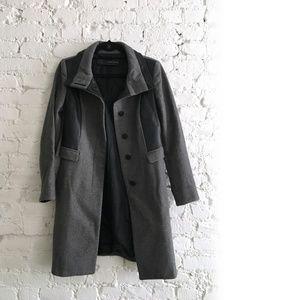 Zara Combined Wool Coat